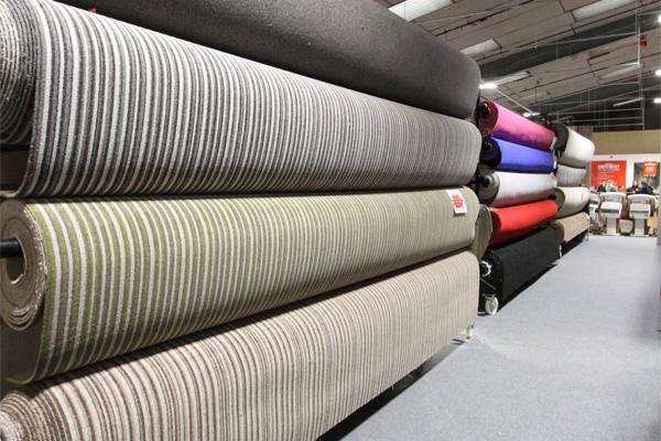 carpet showroom rolls 2