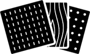vinyl logo black