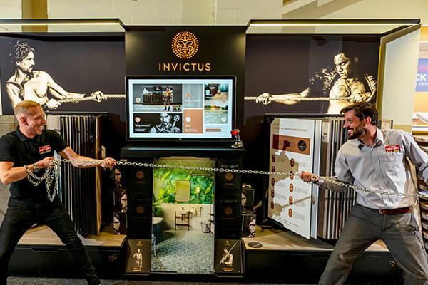 Invictus stand