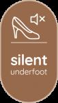 SIlent underfoot icon
